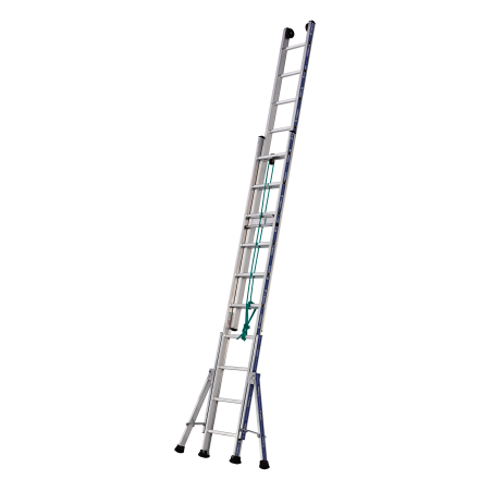 2-Section Rope-Operated Platinum 300 Ladder