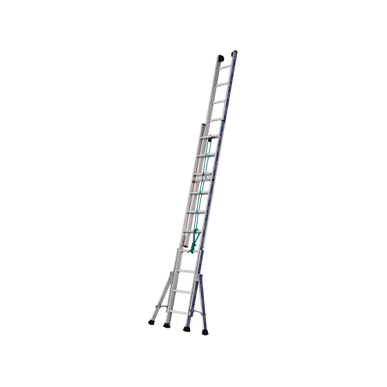 3-Section Rope-operated Platinium 300 Ladder