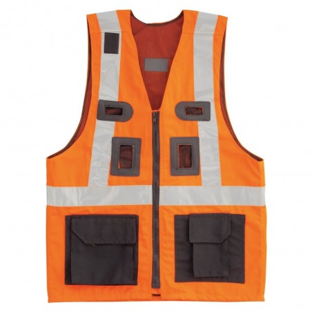Waistcoat with safety harness VS-042