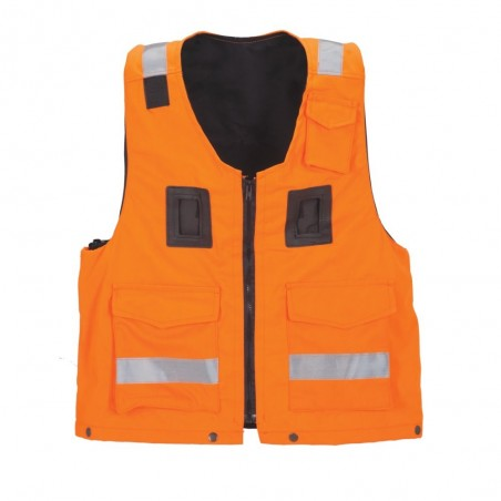Waistcoat with safety harness VS-050
