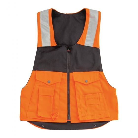 Waistcoat with safety harness VS-080
