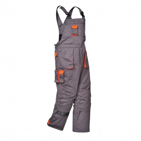 Portwest Texo Contrast lined dungarees TX17