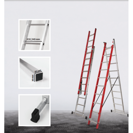 Ladder Electra 2 sections