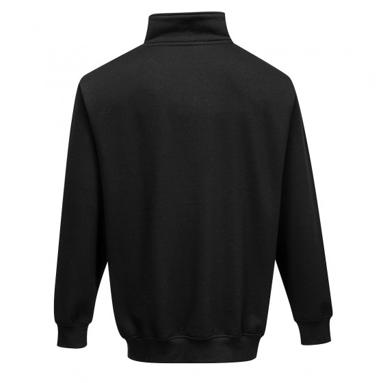 Sweatshirt Zip Closure at Collar Sorrento B309