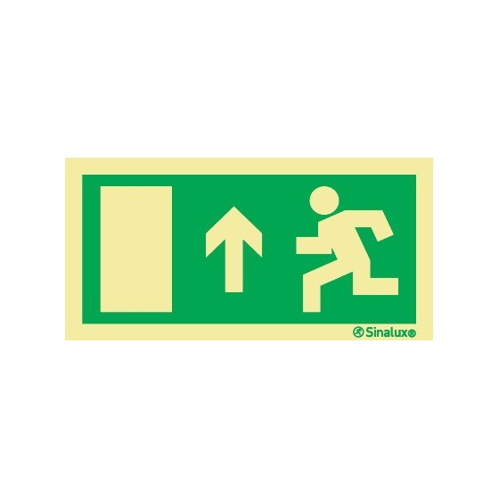 EXIT STRAIGHT AHEAD ON THE LEFT
