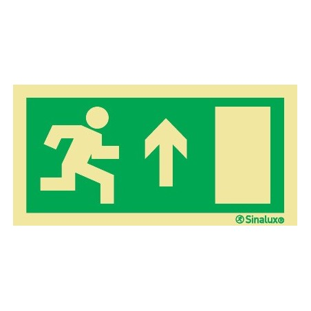 EXIT STRAIGHT AHEAD ON THE RIGHT