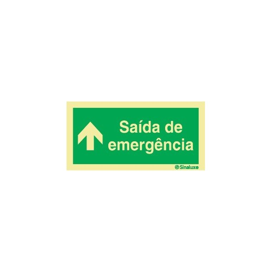 EMERGENCY EXIT AT THE TOP