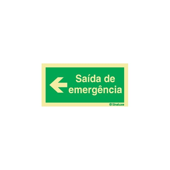 LEFT EMERGENCY EXIT