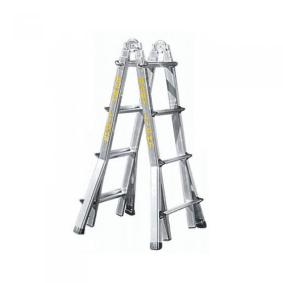 Telescopic Articulated Aluminum Ladder