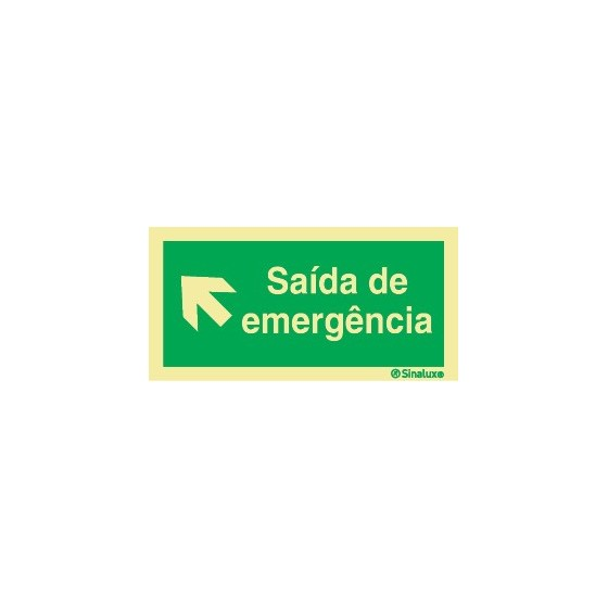 EMERGENCY EXIT TOP LEFT