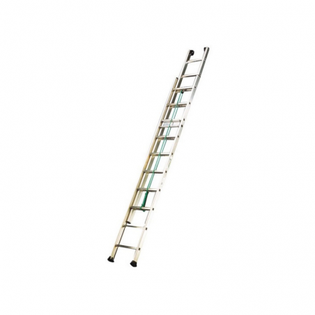 Extendable Double Ladder With Rope