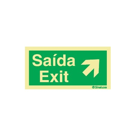 EXIT RIGHT TOP (subtitle in English)