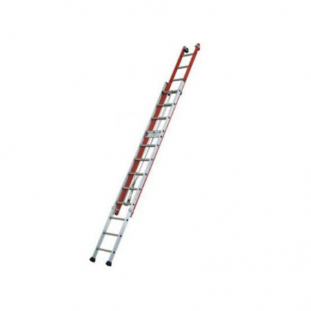 ISOLEX Extendable Double Ladder With Rope