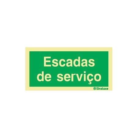 ESCADAS DE SERVIÇO