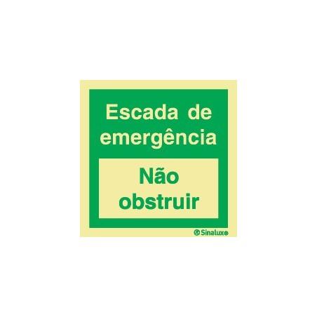 Emergency Ladder (Do not obstruct)