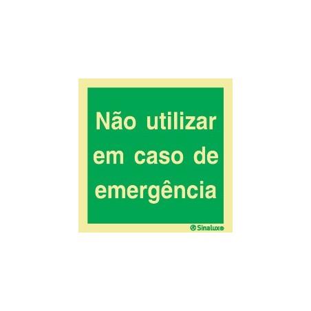 DO NOT USE IN CASE OF EMERGENCY