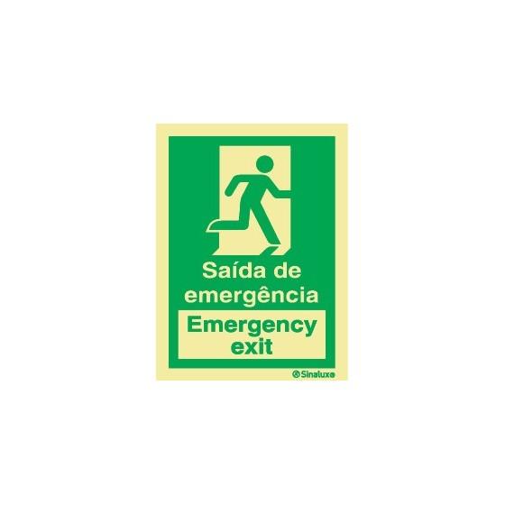 SAÍDA DE EMERGÊNCIA DIREITA (EMERGENCY EXIT)
