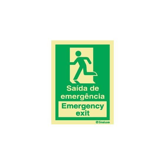 EMERGENCY EXIT LEFT