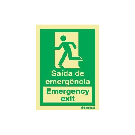 SAÍDA DE EMERGÊNCIA ESQUERDA (EMERGENCY EXIT)