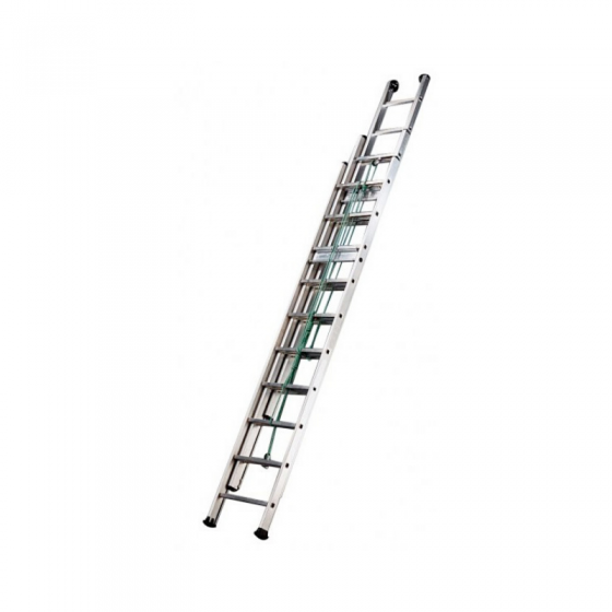 Extendable Triple Ladder With Rope