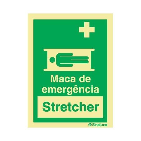MACA DE EMERGÊNCIA (STRECHER)