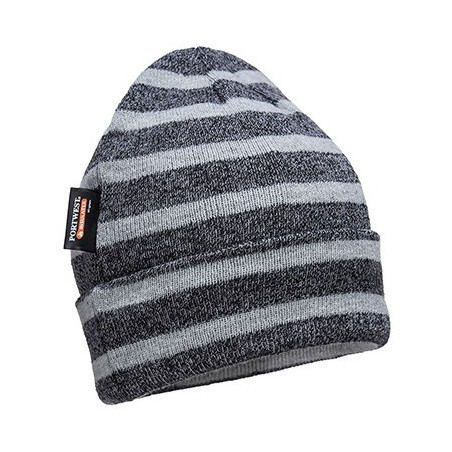 Insulation Cap, Striped Mesh, Insulatex Lining B024