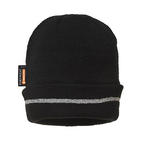 Beanie with reflective detail and Insulatex lining B023