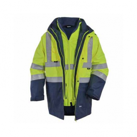 5 In 1 High Visibility Coat