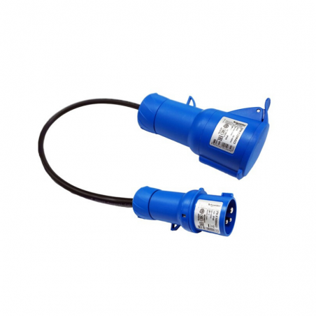 Adapter (1F + N + TT) 16 - EV Portable SAE J1772