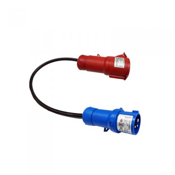 Adaptador CEE (1F+N+TT) 16 – EV Portable MENNEKES