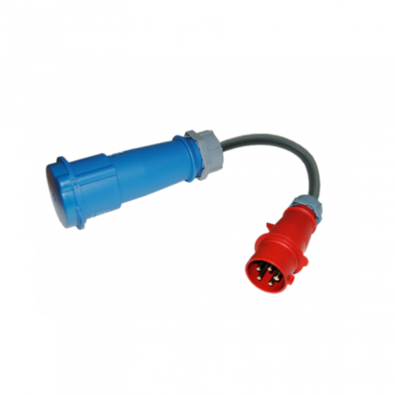 Adaptador CEE (3F+N+TT) 16- EV Portable SAE J1772