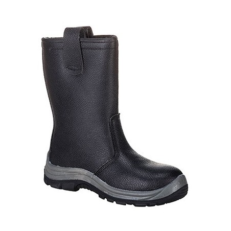 Steelite Rigger Boot S1P FW12 Black