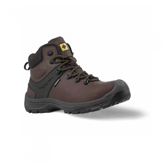 Toworkfor Hiker Brown S3 Safety Boot