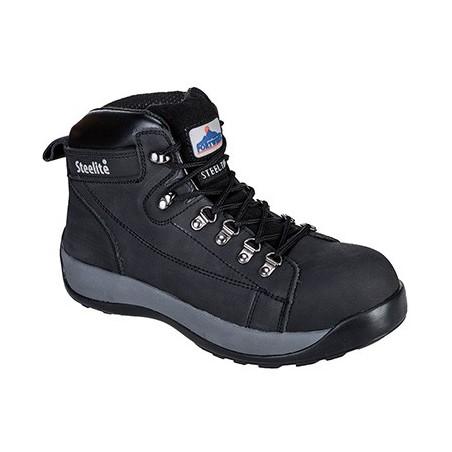 Steelite Mid Cut Nubuck Boot HRO FW31 Black
