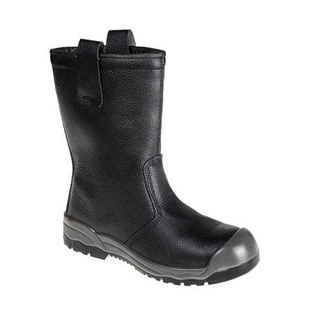 Steelite Rigger Boot S1P FW13 Black