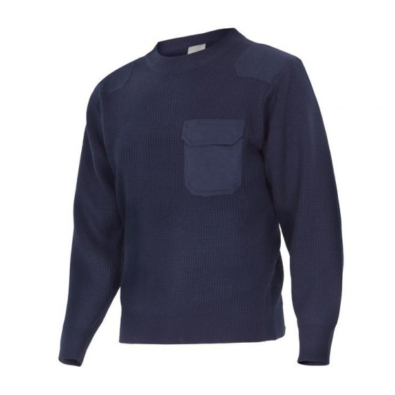 Thick Point Knit Sweatshirt