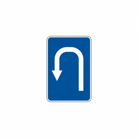 Fire extinguisher sign with right arrow