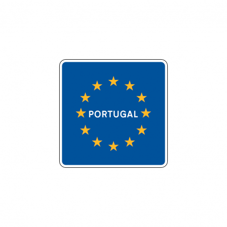 Fire extinguisher sign with left arrow