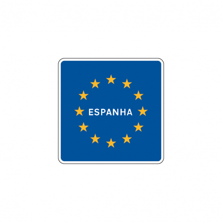 Fire extinguisher sign with diagonal left arrow
