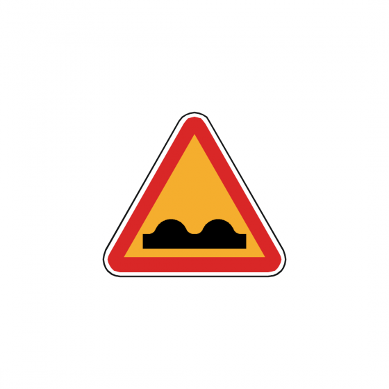 Fire extinguisher and reel sign with right diagonal arrow