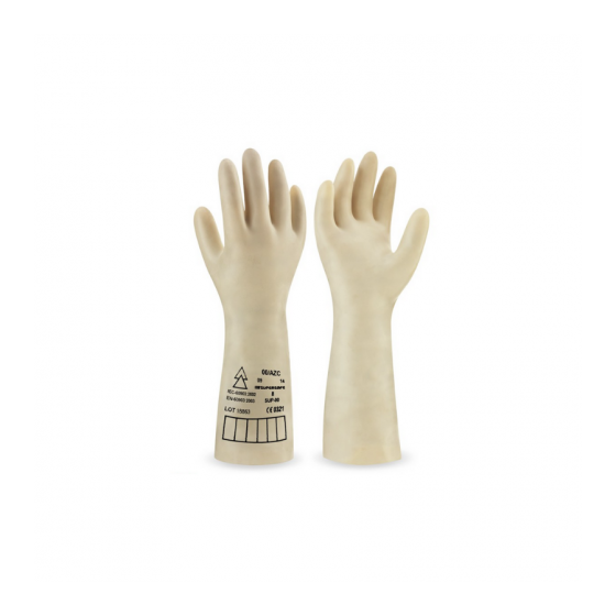 General electrical panel sign with down arrow