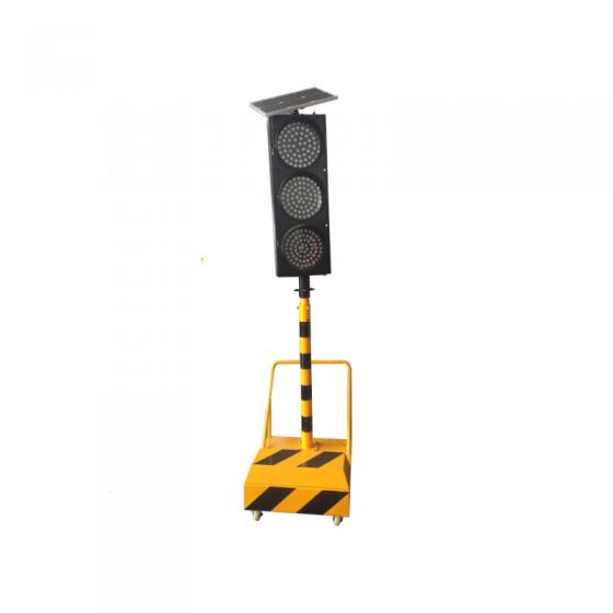 Semáforos Temporários De Obras Em LED E Energia Solar (2 Unidades)
