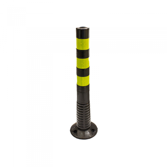 Self-Elevating Bollard with screws 75 cm PU
